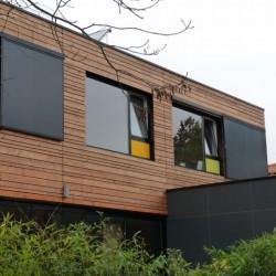 Bardages panneaux bois Bruynzeel