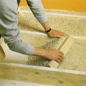 vermiculite entre gites