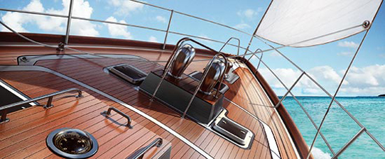 Vernis-yacht